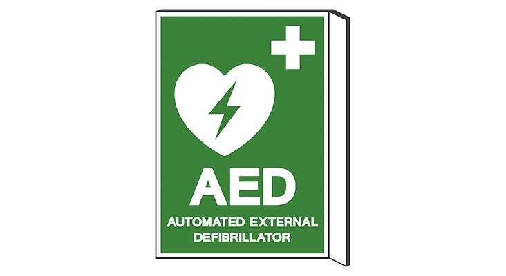 AED graphic