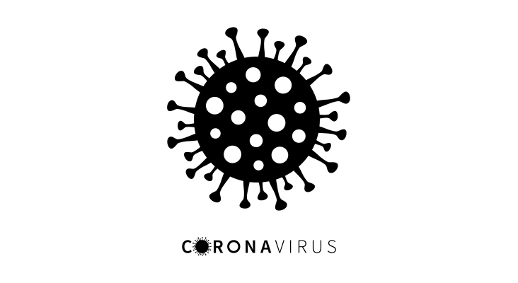 Coronavirus bacteria cell Icon