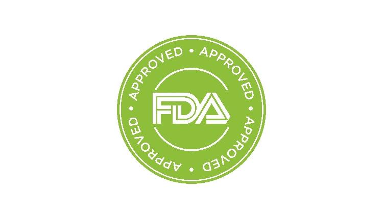 FDA Approved (Food and Drug Administration) icon, symbol, label, badge, logo, seal