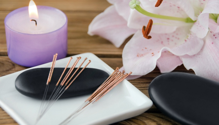 Acupuncture and Hot Stone Massage