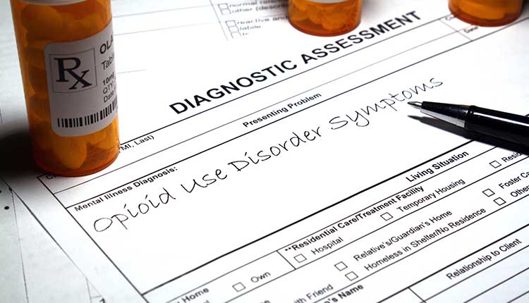Opioid use disorder - Mental disorder diagnosis and treatment (abstract)