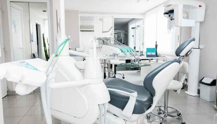 Dental cabinet & dental equipment