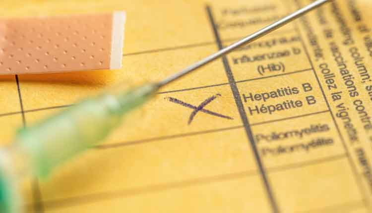 International certificate of vaccination - Hepatitis B