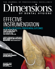 Dimensions Cover for August 2021